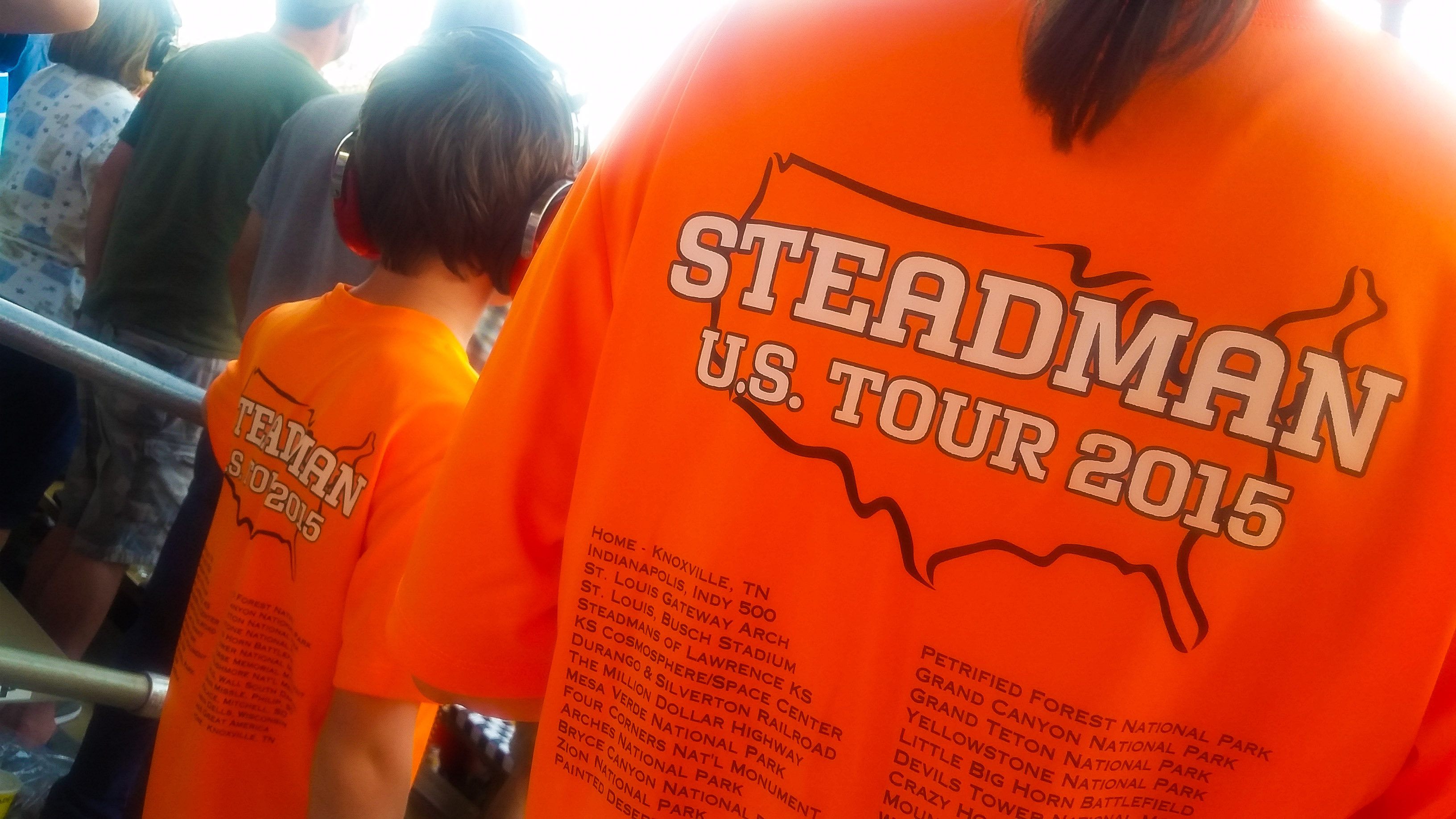 Steadman US Tour 2015