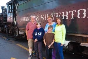 Family & Patsy @ Durango & Silverton Railway