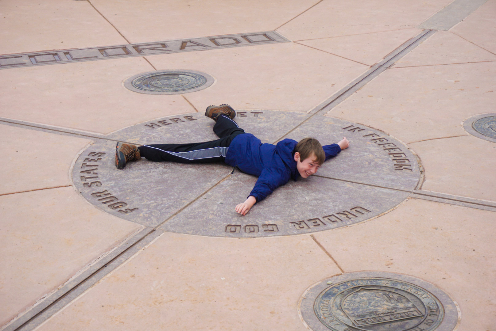 Collin in four states at once!