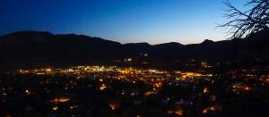 Sunset over Durango CO