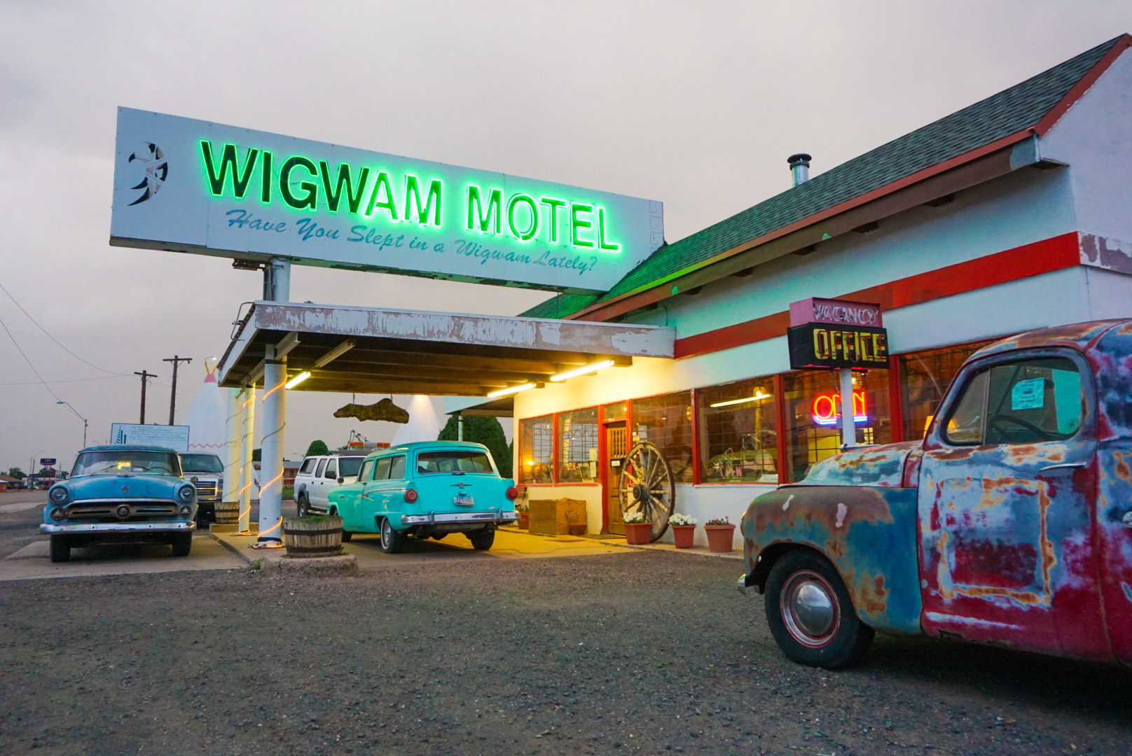 Old Route 66 - Wigwam Motel