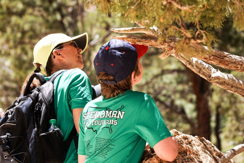 Inspecting bugs in Bryce Canyon