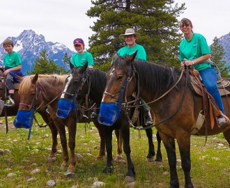 Horseback at Grand Teton National Park