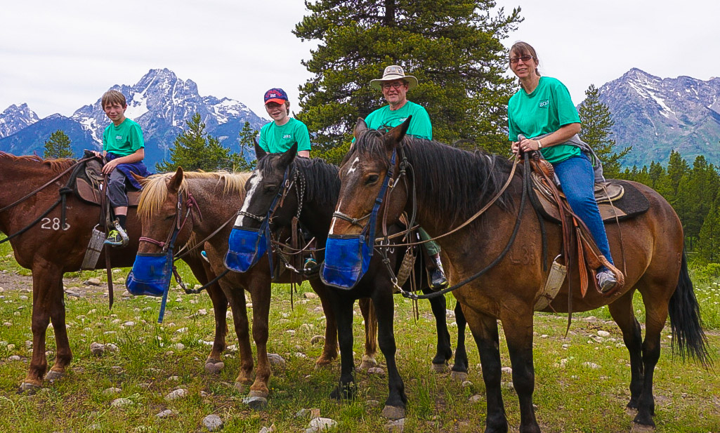 Grand Tetons by Horseback