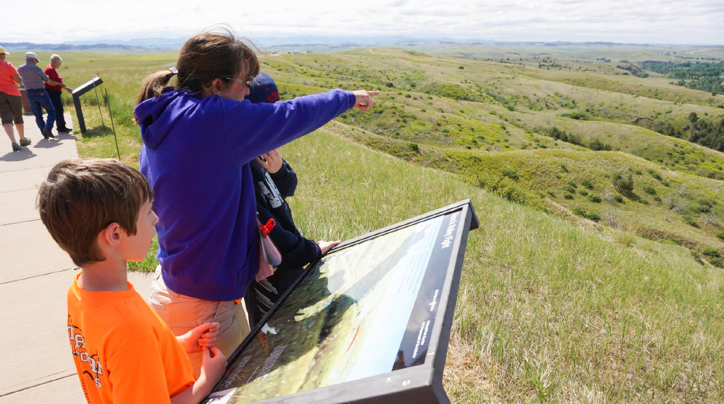 Taking the Little Bighorn Battlefield self-guided tour