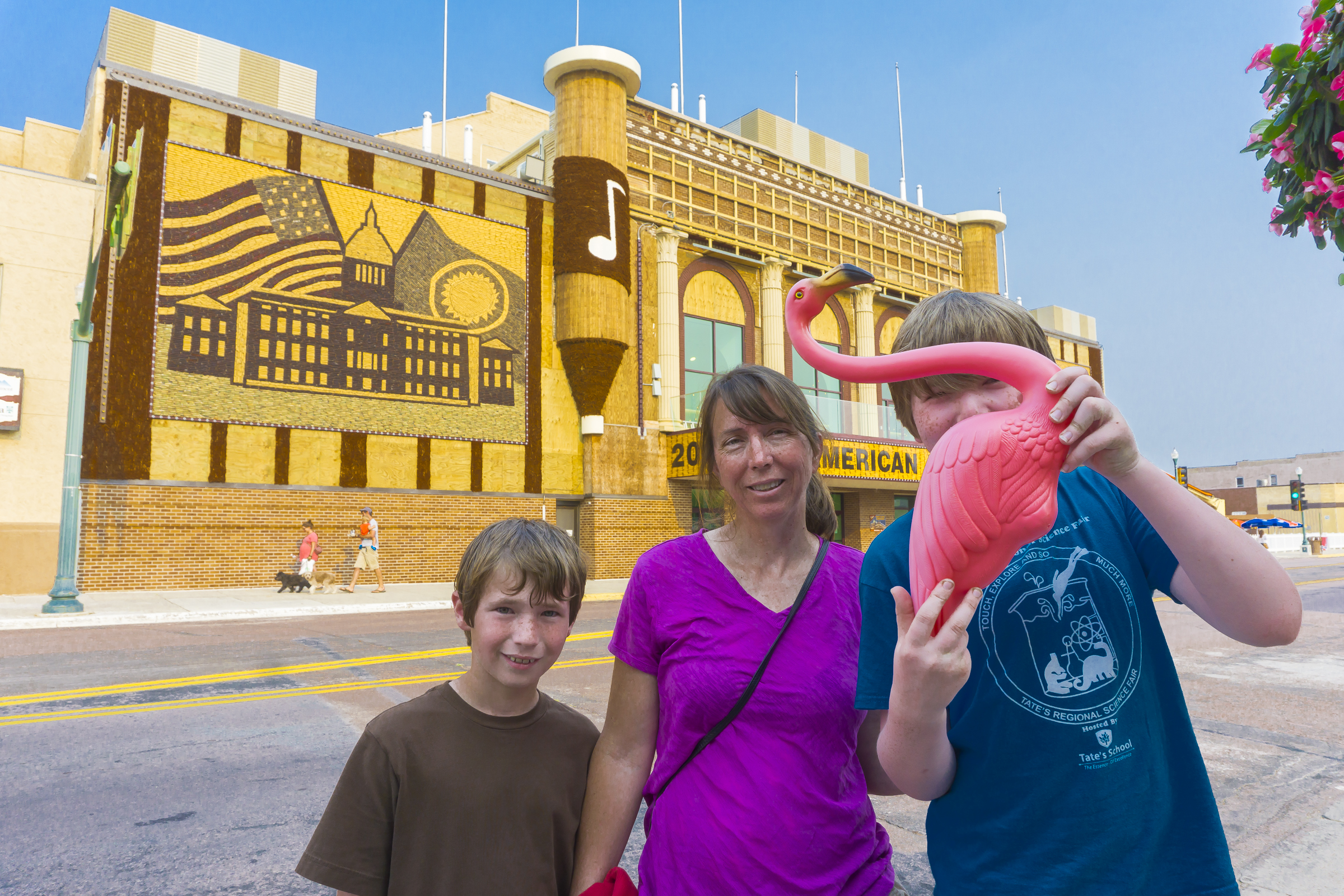 Visiting the Corn Palace in Mitchell, SD