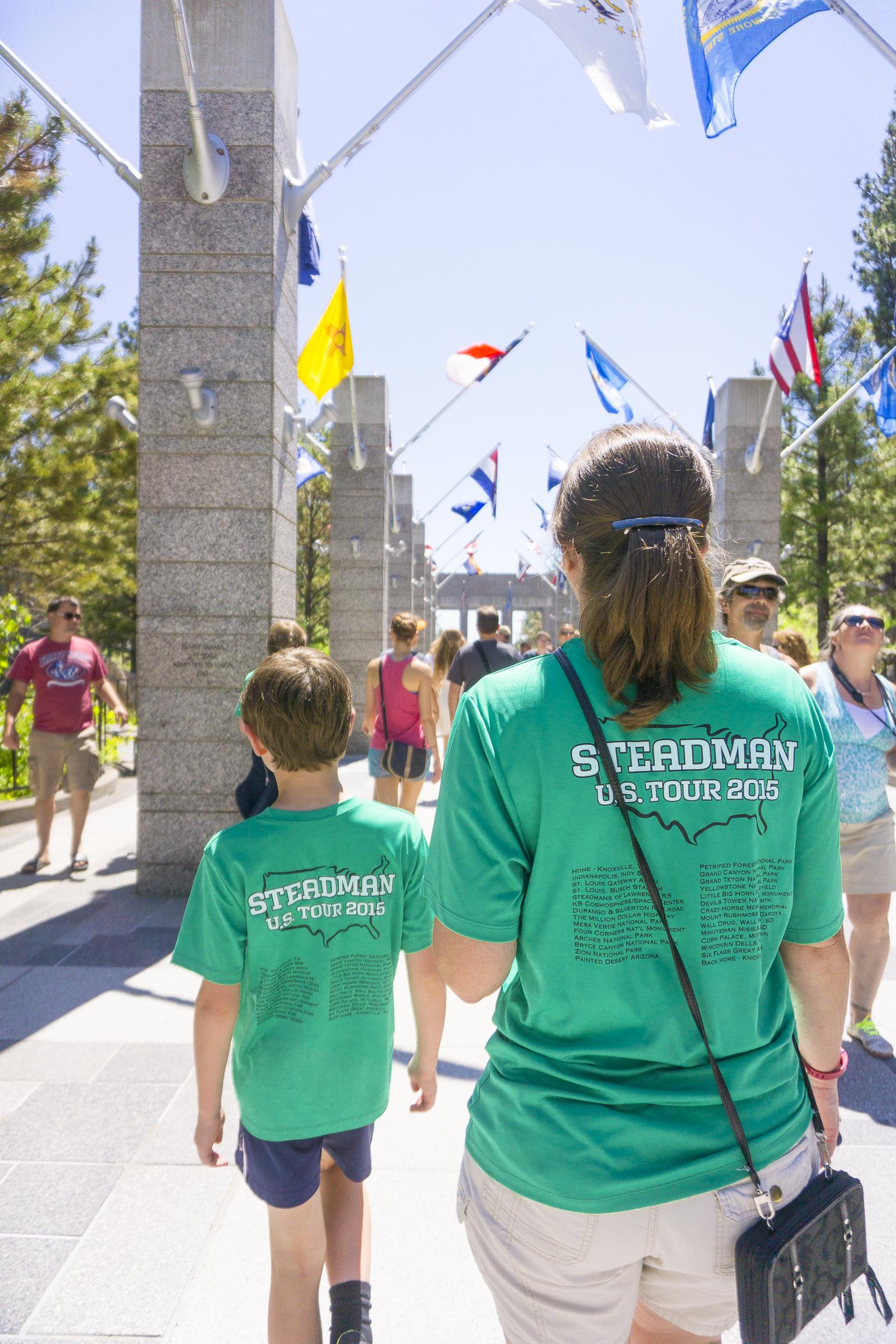 Visiting Mount Rushmore National Memorial